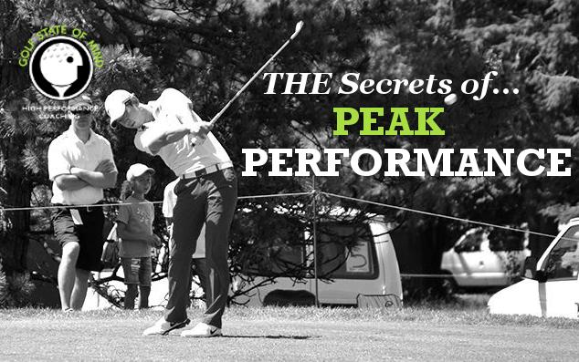 The Secrets Of Peak Performance