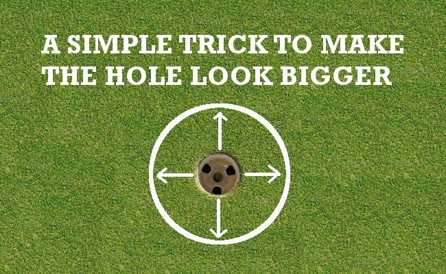 How To Make The Hole Look Bigger