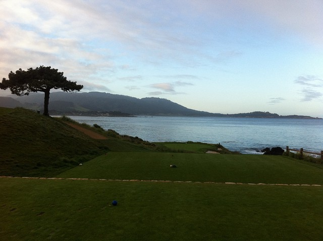 Playing Pebble Beach