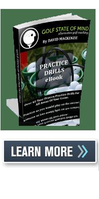 golf practice drills book