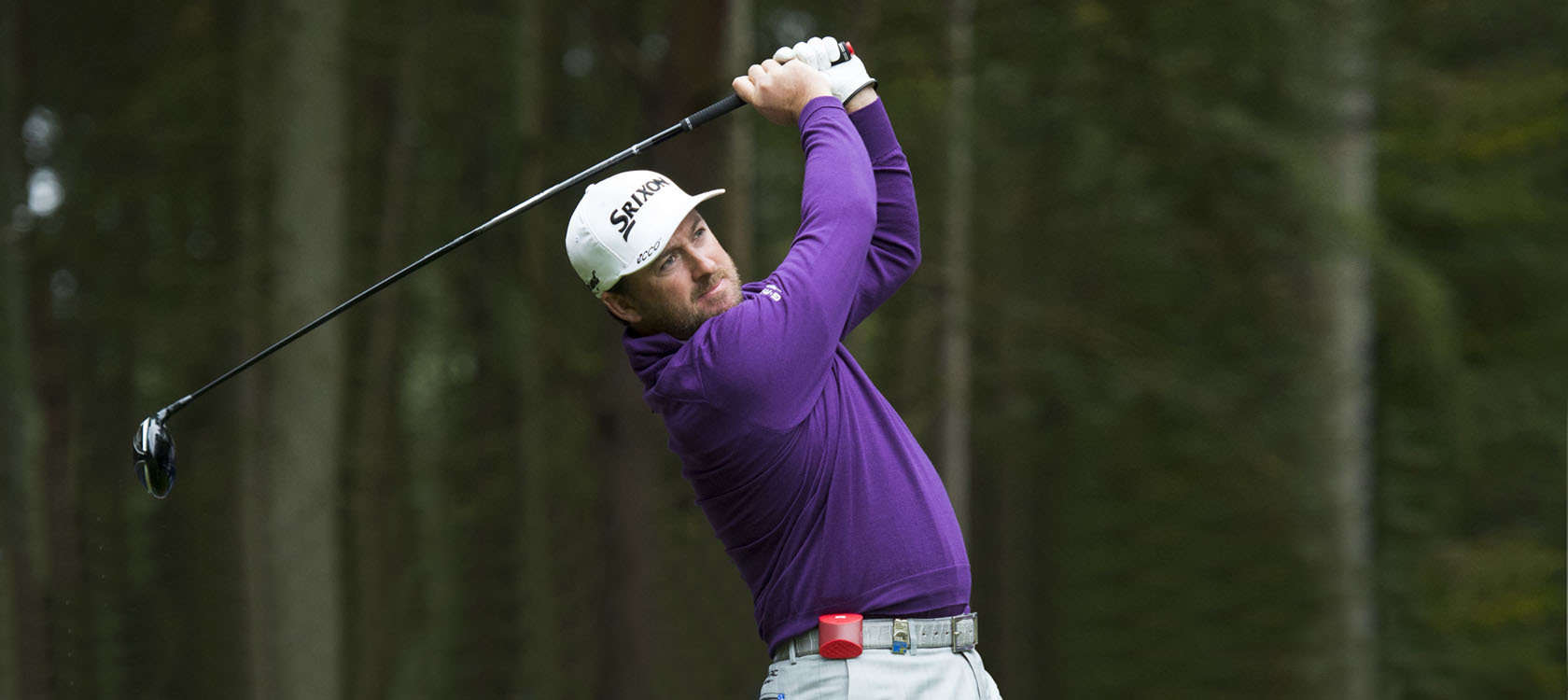 Graeme McDowell Of Northern Ireland In Action During A Pro-Am Round Ahead Of The 2015 British Masters At The Marquess Course, Woburn, In Bedfordshire, England On 7/10/15. Picture: Richard Martin-Roberts | Golffile