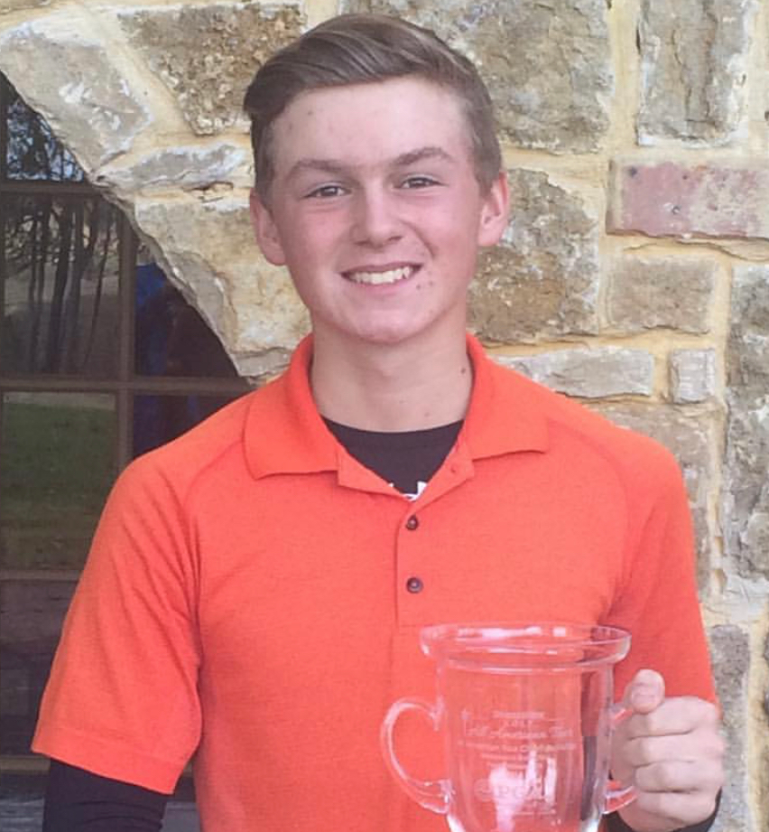 Nick Hance, Winner NTPGA Cowboys Classic And Bridlewood Junior 2016, T3 Donald Ross Junior 2017