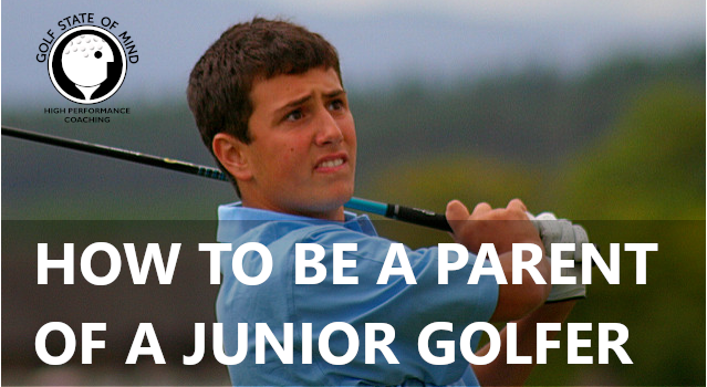 Mental Coaching For The Junior Golfer