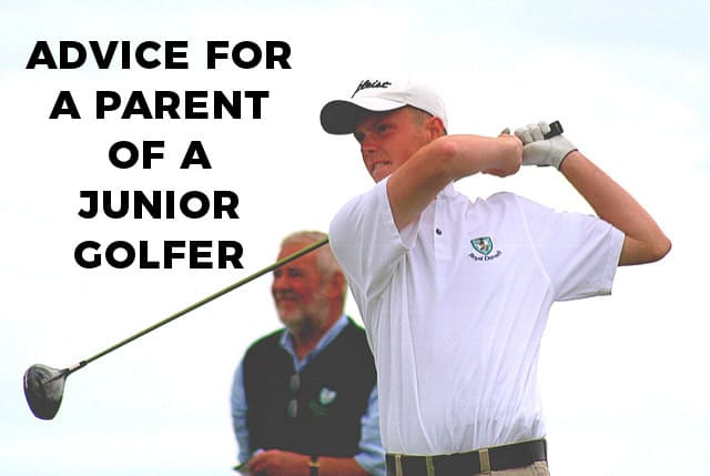 Parent Of A Junior Golfer