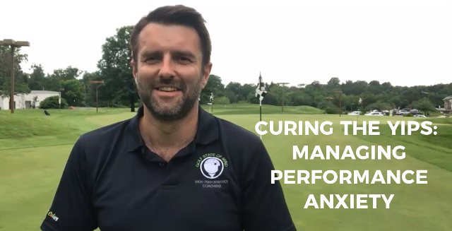 Curing The Yips By Lowering Performance Anxiety
