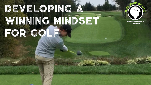 winning mindset for golf