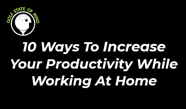 Daily Routine For High Productivity