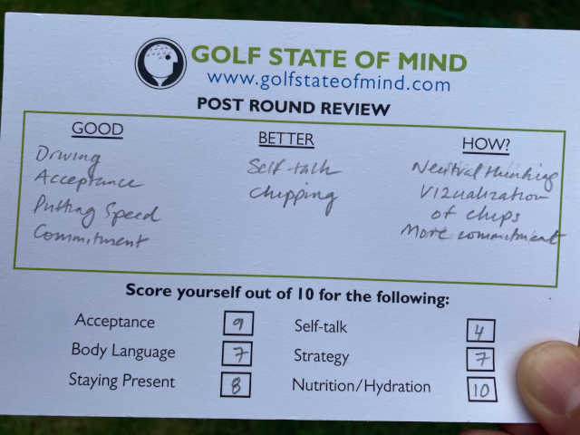 Post Round Review