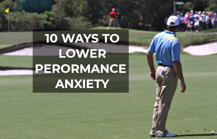 performane anxiety in golf