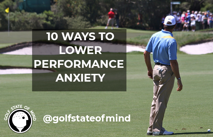 Performance Anxiety In Golf