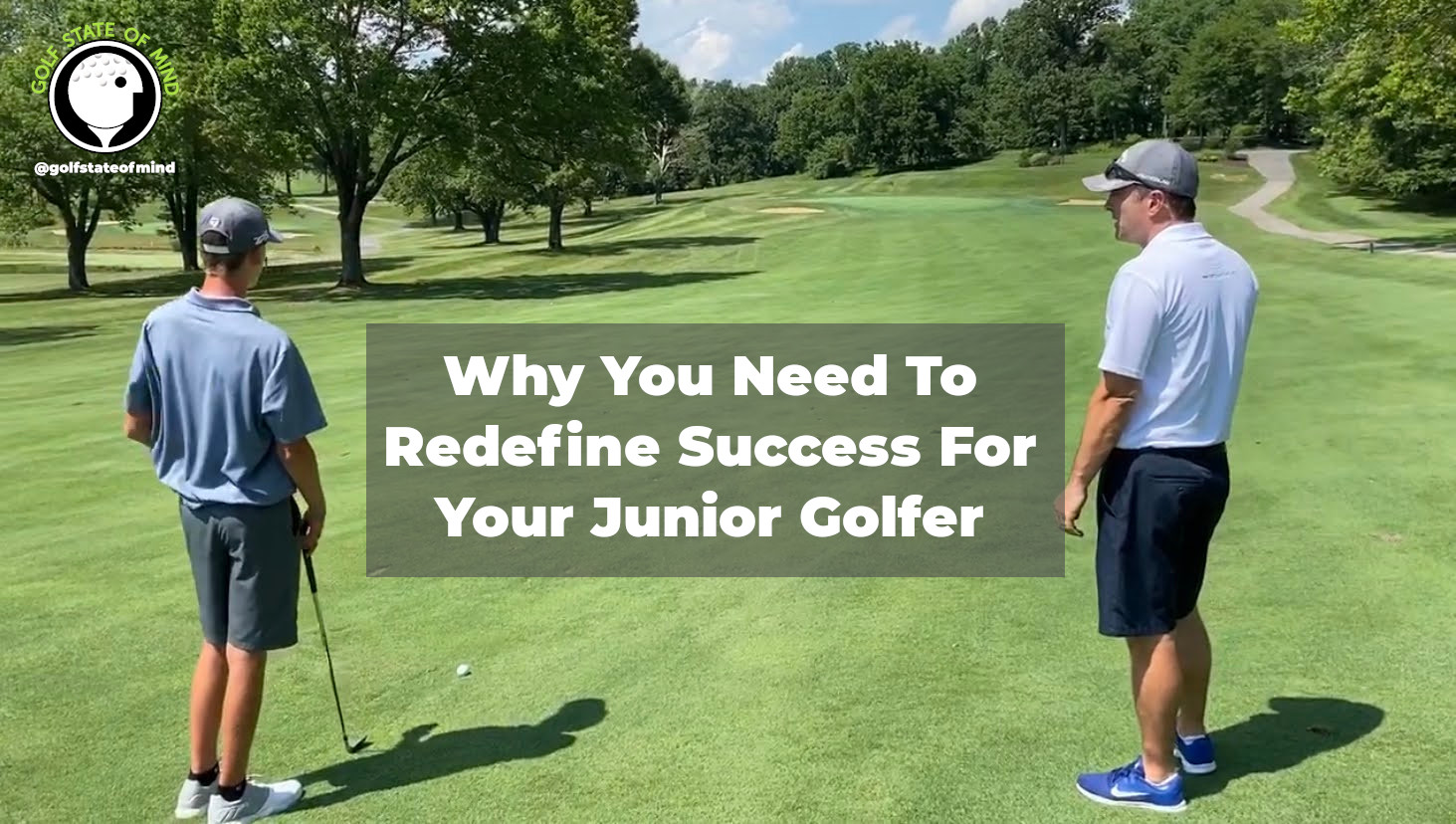 Why You Need To Redefine Success For Your Junior Golfer